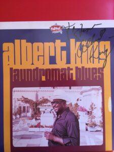 Albert King Autograph