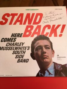 Charley Musselwhite Autograph