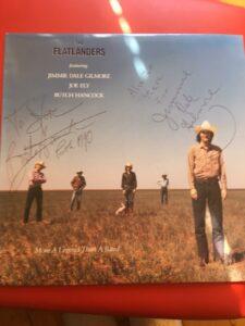 Flatlanders Autograph