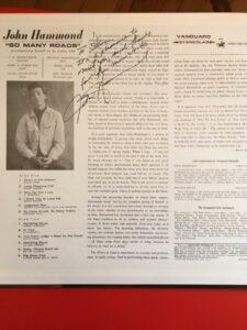 John Hammond Autograph